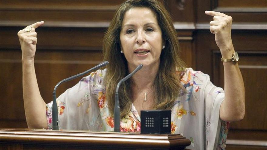 La diputada socialista Dolores Padrón. EFE/Cristóbal García