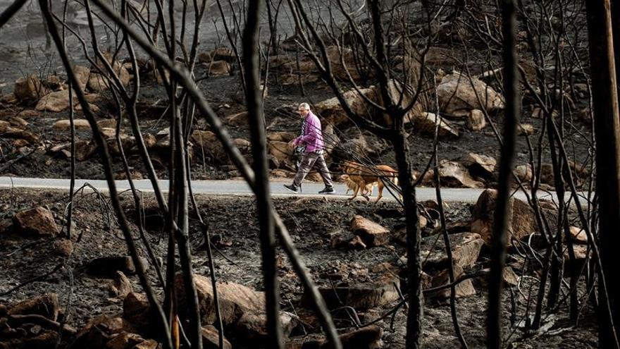 Detenida una vecina de Mos (Pontevedra) en relación con varios incendios