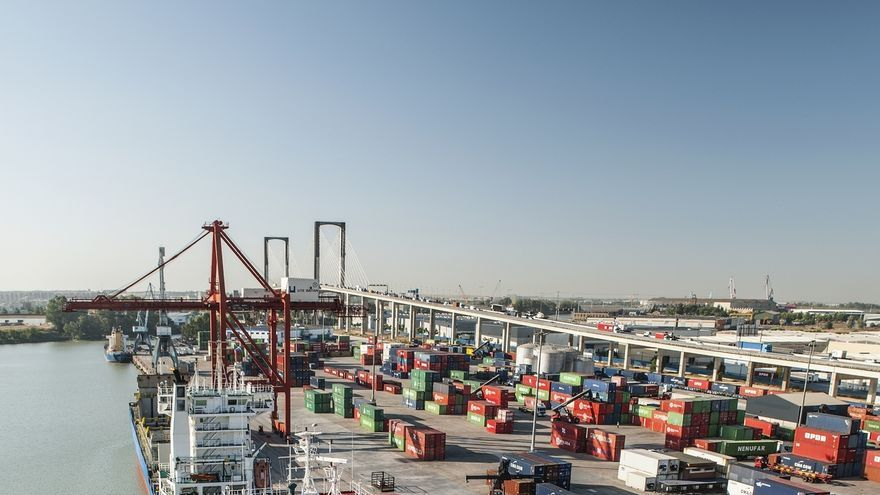 Consejo del Puerto aprueba una concesión de 35 años a Sevisur para un centro logístico de Amazon