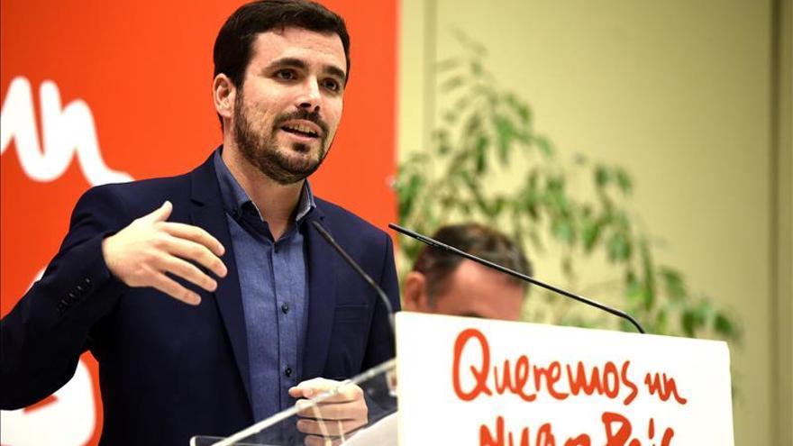 """Garzón reprocha al """"nuevo bipartidismo"""" su exclusión del debate a cuatro"""