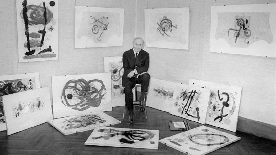 """Vender los 85 Miró supone """"una pérdida profunda para el patrimonio"""" luso"""
