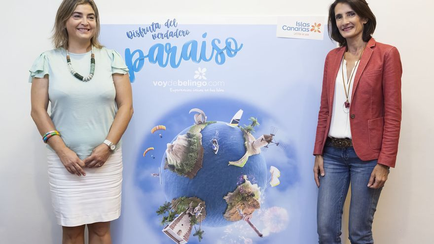 Presentación  de la nueva campaña turística de 'Voy de Belingo'.