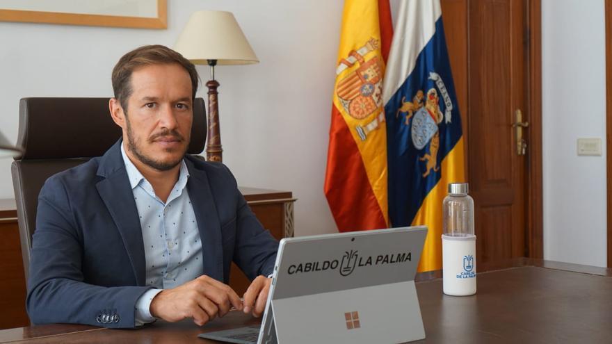 Mariano H. Zapata traslada a la Unión Europea la necesidad de realizar test en el Puerto y Aeropuerto de La Palma