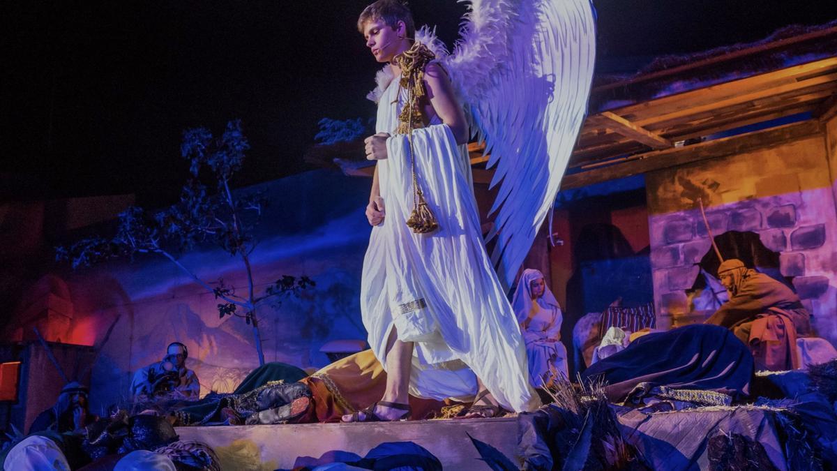 Representación de los Reyes Magos de Tejina