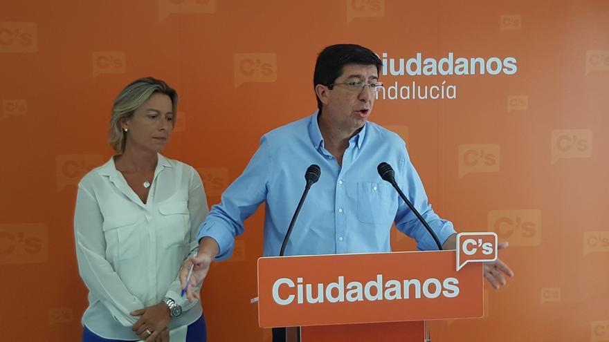 """Marín (C's) incide en que Díaz está """"demasiado callada"""" sobre la investidura y no cree que el Gobierno la """"chantajee"""""""