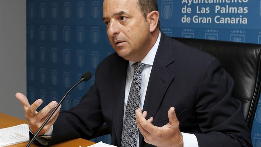 El portavoz del PP en Las Palmas de Gran Canaria, Juan José Cardona. EFE/Elvira Urquijo A.