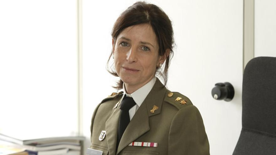 Patricia Ortega García, coronel de las Fuerzas Armadas.