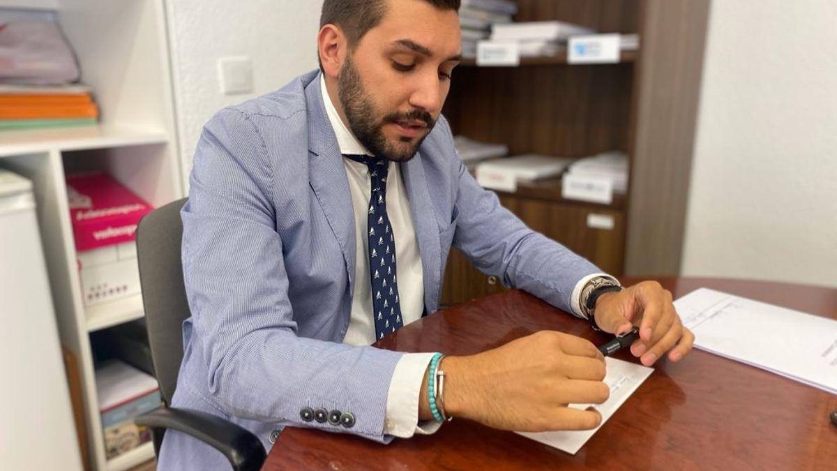 Miguel Castellano en el grupo de Ciudadanos