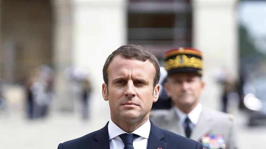 Macron se compromete a erradicar a los secuestradores de la rehén francesa en Mali