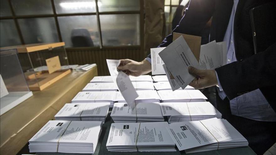 El Gobierno espera datos muy cercanos al resultado final de los comicios a las 22:30 horas