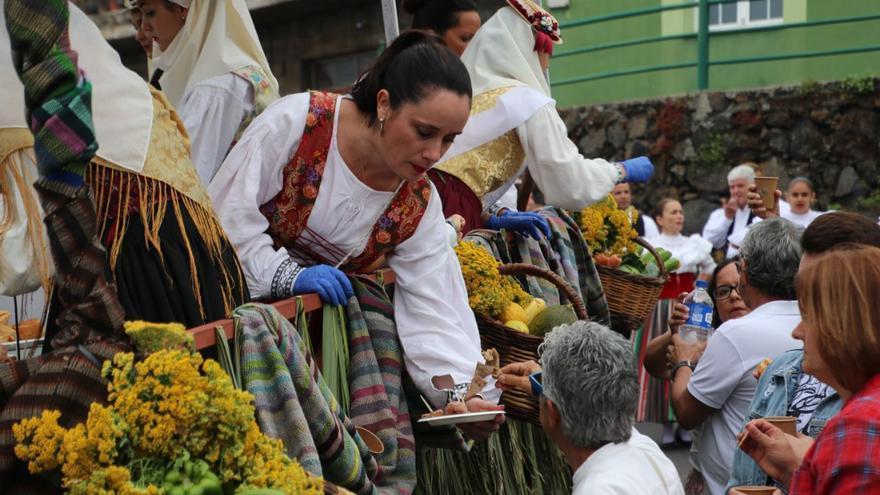La romería reunió a numerosas personas.
