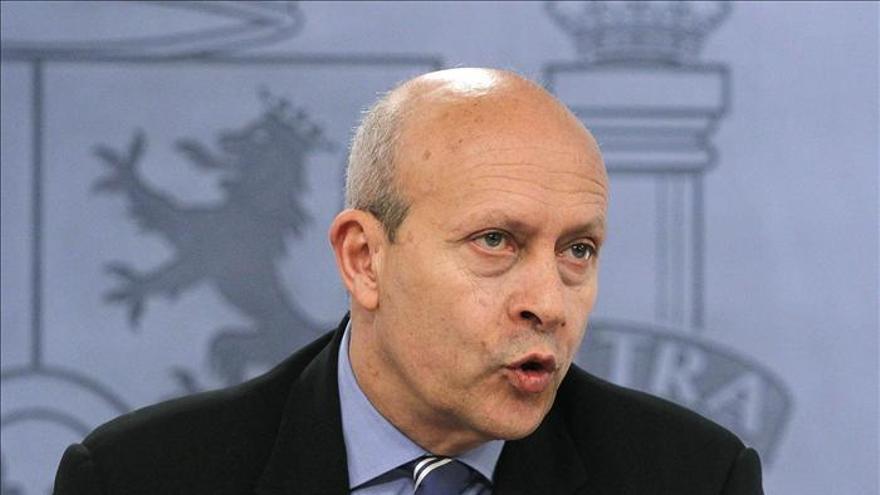 """El ministro de Educación considera su reforma """"imprescindible"""" para reducir el paro"""