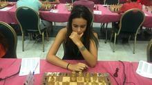 Adbara Rodríguez, durante la competición celebrada en Salobreña