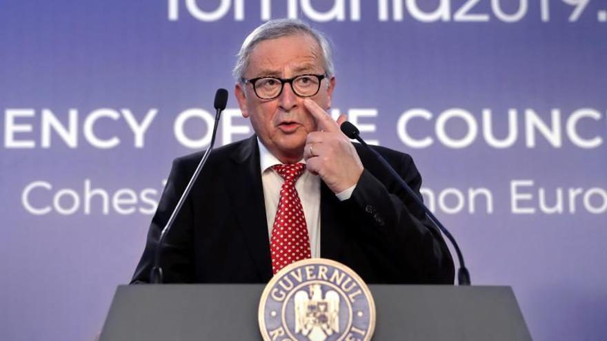 """Juncker sobre el """"brexit"""": Déjenme hacer"""