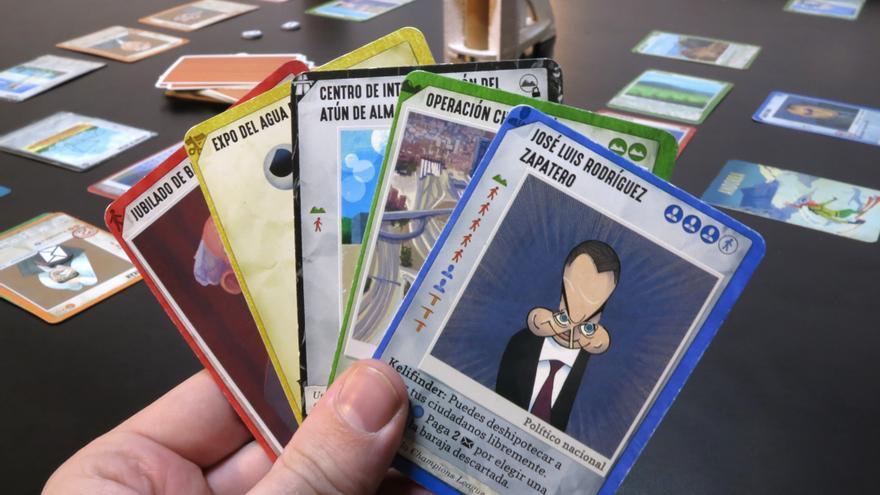 Cartas de 'El Ladrillazo', el juego de mesa de la burbuja inmobiliaria