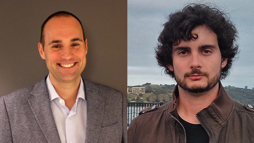 Carlos Fenollosa, CEO de Optimus Price y Xavier Tous, fundador y director ejecutivo de Athena