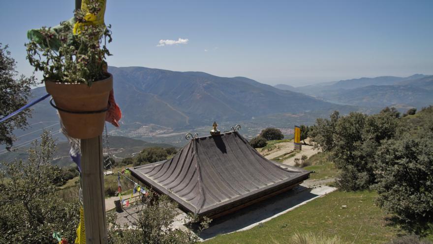 Centro budista O Sel Ling, en la Alpujarra granadina.