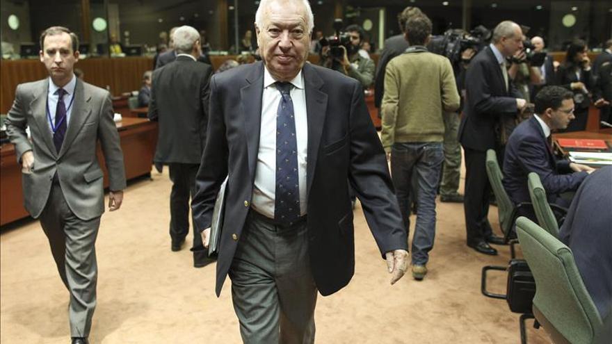 García-Margallo anuncia que la conferencia de Madrid sobre Libia se pospone