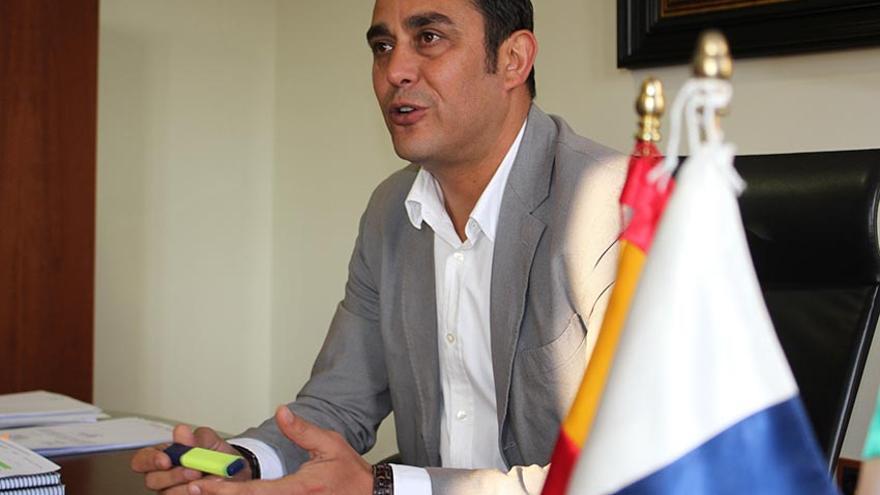El vicepresidente del Cabildo de Fuerteventura y consejero de Turismo, Blas Acosta.