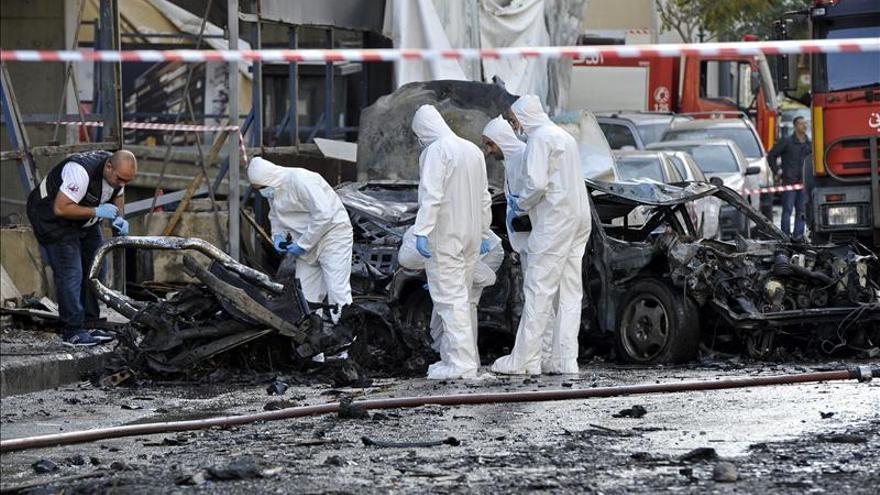 Al menos 4 muertos y 9 heridos en una explosión con coche bomba en Beirut
