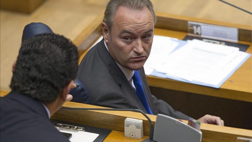 Fabra confirma que Castedo no irá en las listas del PP a las municipales