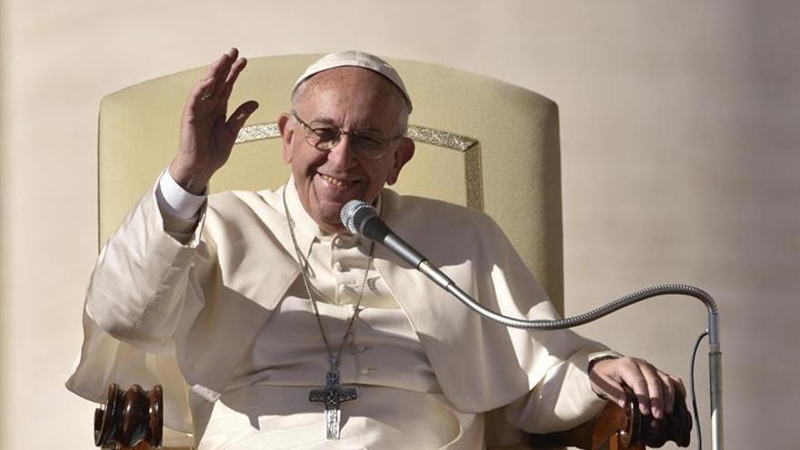 El Papa pide a la comunidad internacional que proteja los derechos de niños