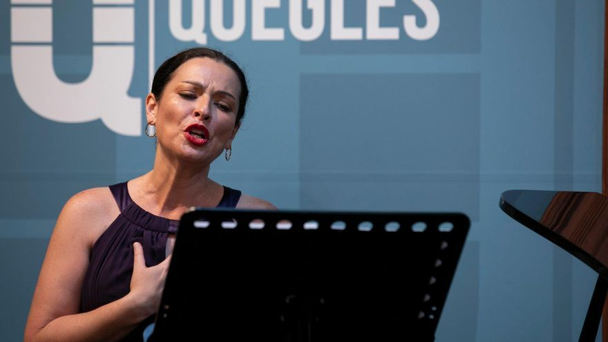 La soprano Estefanía Perdomo. (LPA CULTURA)