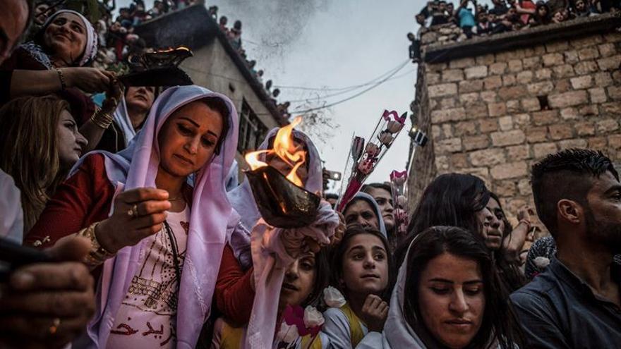 El EI retiene a 3.281 yazidíes desde agosto de 2014, dice el Gobierno kurdo