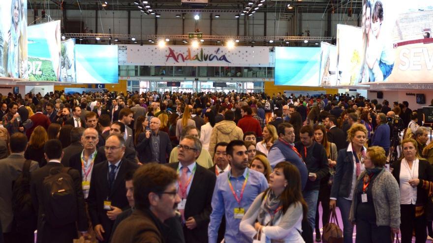 El expositor de Andalucía en Fitur 2015 recibió 151.400 visitantes, un 3,8% más que en la edición anterior