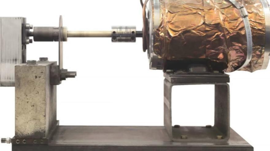 La bomba diseñada por los ingenieros del MIT que batió el record de tolerancia al calor tras resistir el flujo de materiales entre 1.200 y 1.400 grados durante 72 horas.