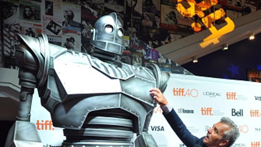 El impresionante gigante de hierro de Barton en el Festival de Cine de Toronto