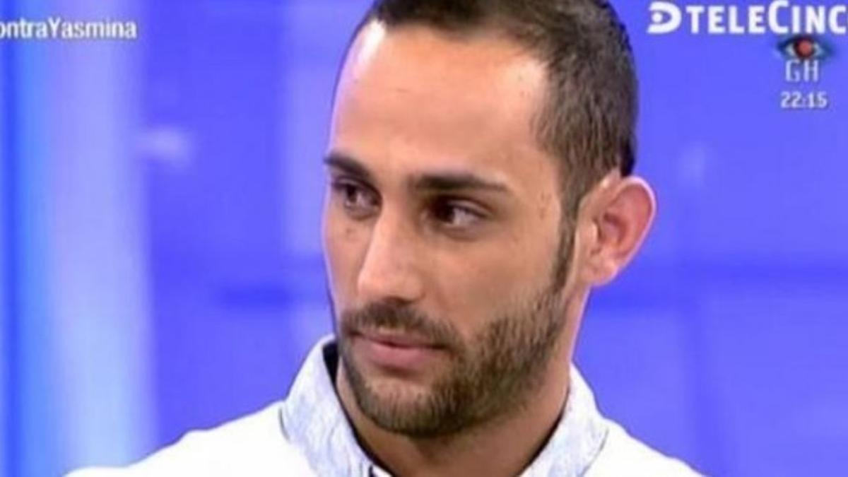 Javier C.,  exconcursante del programa 'Mujeres y Hombres y Viceversa'.