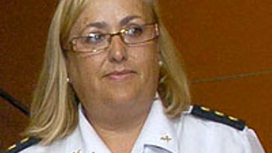 Concepción de Vega Caamaño, jefa superior de Policía.