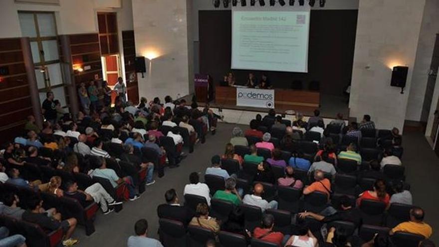 Asamblea de Podemos en Gran Canaria