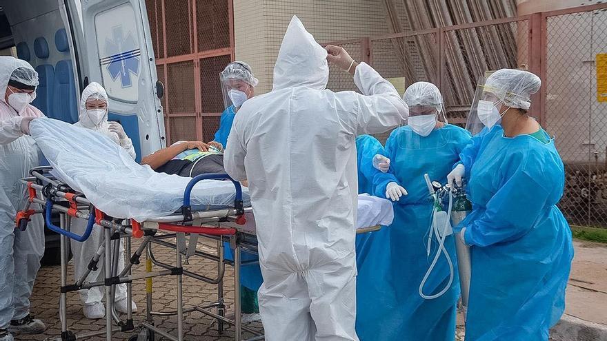 Crisis sanitaria en Brasil: San Pablo comienza a evacuar a pacientes de Covid-19 por falta de oxígeno