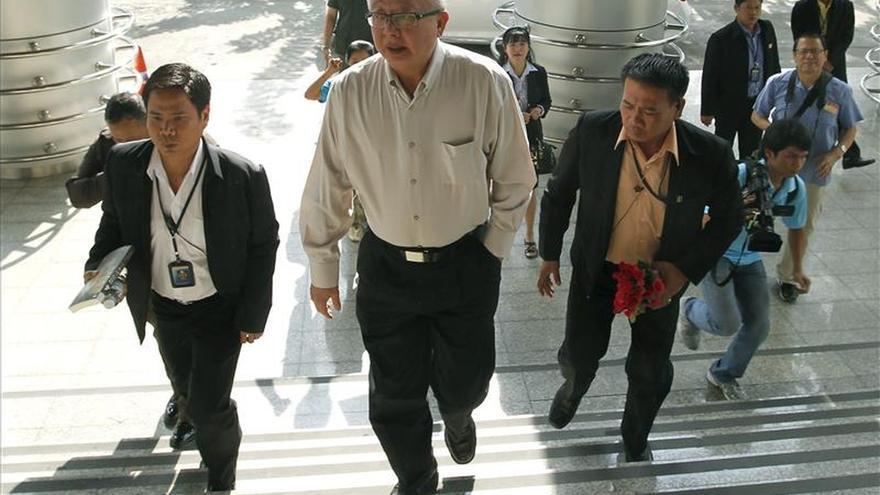 Condenan a prisión a seis líderes de las protestas de 2008 en Tailandia