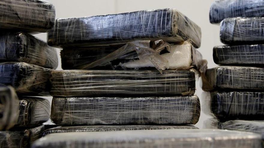 Desarticulada una red que iba a introducir 2.500 kilos de cocaína en Europa
