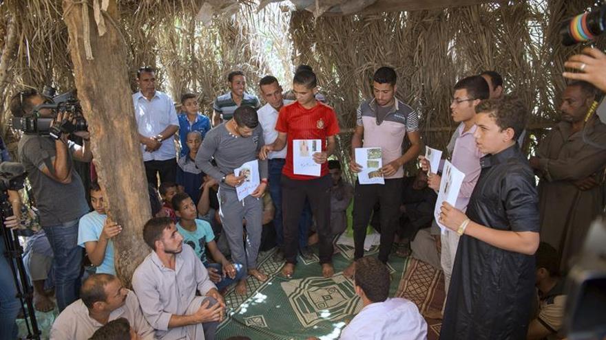 Forman a los agricultores para atajar la malnutrición en zonas rurales de Egipto