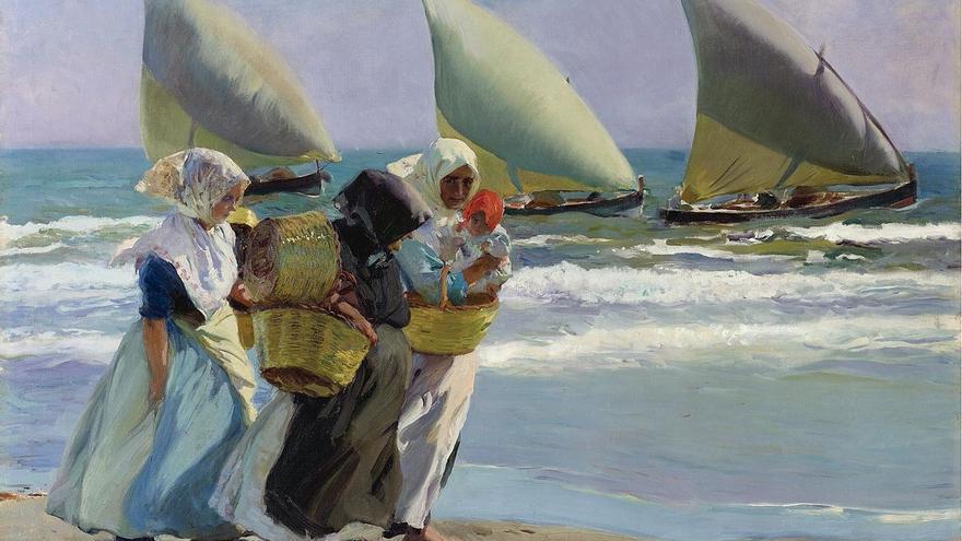 """Las tres velas"" (1903), Joaquín Sorolla."