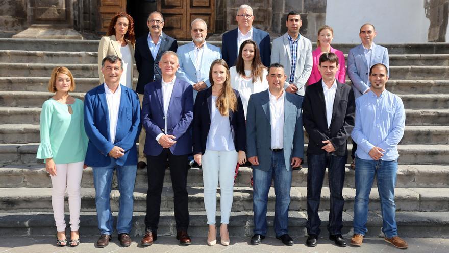 En la imagen, los integrantes de las candidaturas de Ciudadanos.