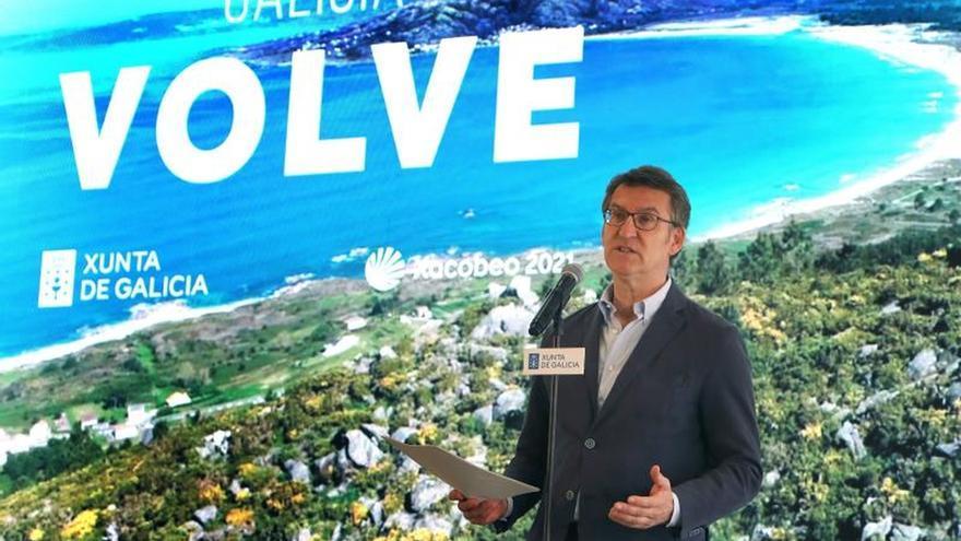 Presentación da campaña turística da Xunta para este ano.
