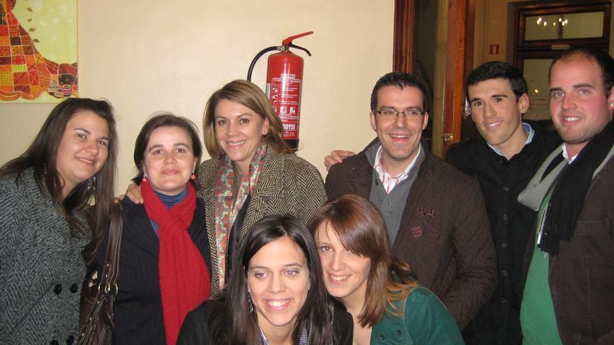 PP de La Solana (Ciudad Real) con Cospedal / Foto: PP La Solana