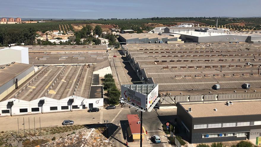 Parque Empresarial Santana en Linares (Jaén)