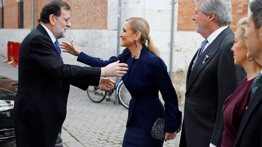 """Cifuentes: """"No voy a descuidar mis funciones y seguiré representando a la Comunidad de Madrid"""""""