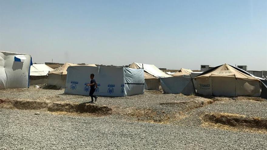 El Gobierno iraquí cierra un campamento donde mantenía a más de 150 familias del EI