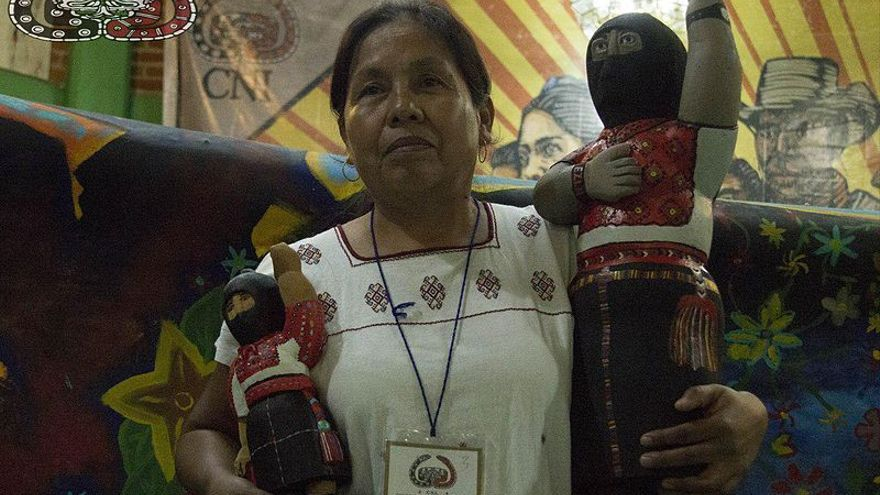 María de Jesús Patricio Martínez, Indígena nahua, médica tradicional y defensora de los derechos humanos mexicana // Wikipedia: PetrohsW