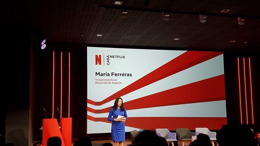 María Ferreras, vicepresidenta de Netflix