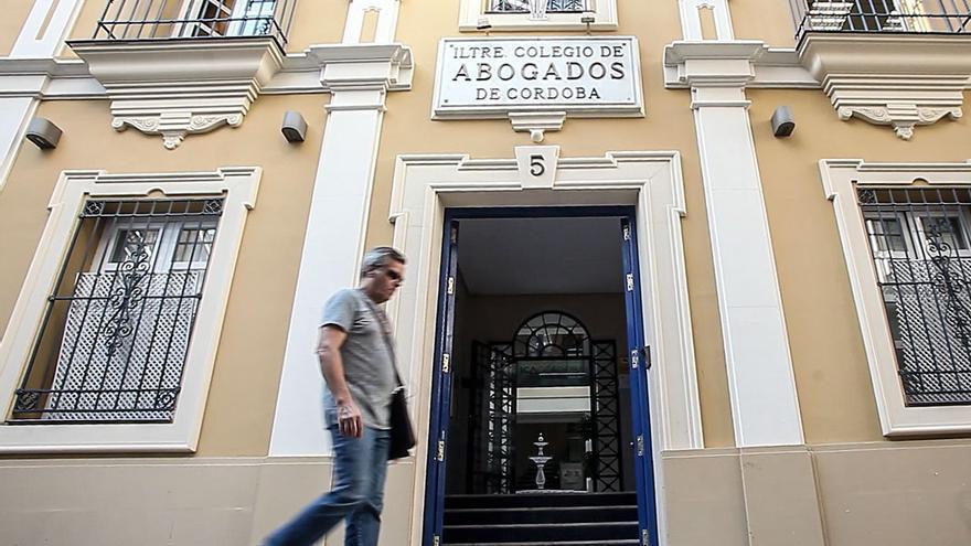 Fachada del Colegio de Abogados de Córdoba