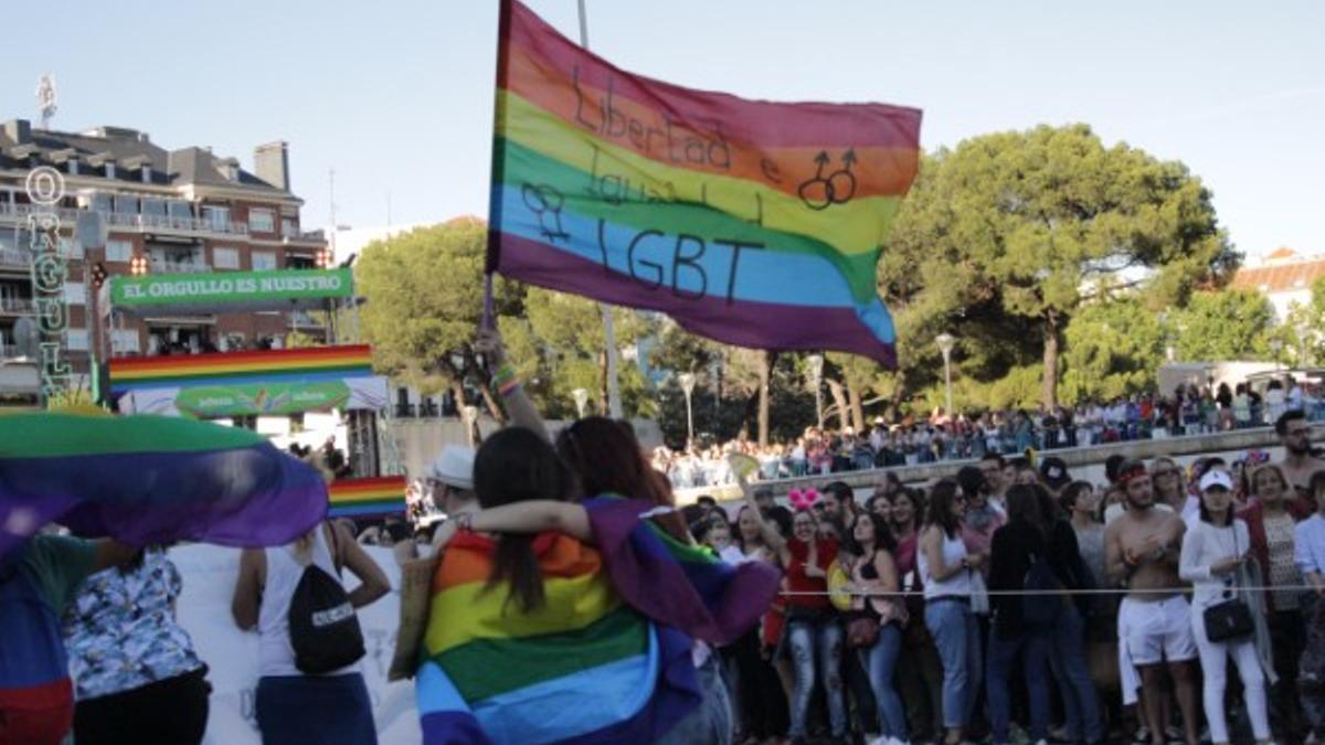 Manifestación del Orgullo LGTBI   Somos Chueca