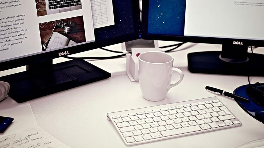 Mesa de trabajo. (DP)